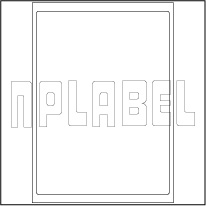 GU1001 Multipurpose A4 Label Sheets
