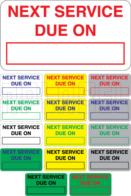 110003 Next Service Due on