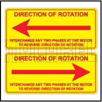 140993_94 Direction Rotation Stickers