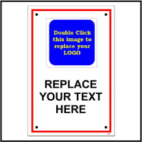 141829 General Custom Signage Sticker