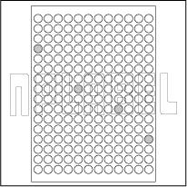 GU14204R Multipurpose A4 Sheets - Round Sticker