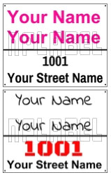 142719 Customize Name Plate