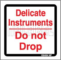 150454 Caution - Delicate - Do Not Drop Labels