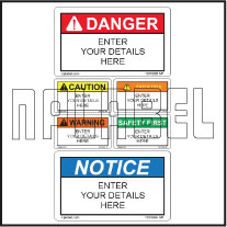 151106 Customize Safety Caution Labels