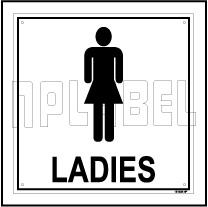 151408 Ladies Toilet Sign Name Plate