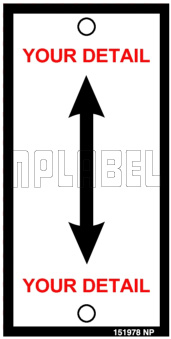 151978 Customize Arrow Labels & Stickers