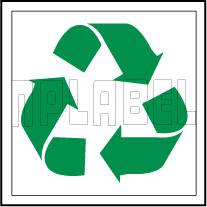 153616 Recycle Sign Name Plate