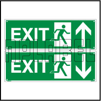 160056 Exit Sign Name Plates