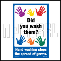 160118 DID You WASH Them HAND Washing Stop Plates