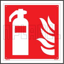 160143 Emergency Fire Safety Sign Name Plate