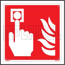 160144 Fire Alarm Signs Name Plate