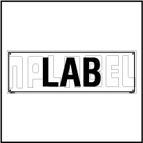 160180 LAB Name Plate