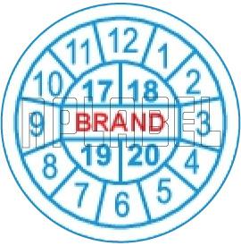 162536C Warranty Void Label Template