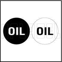 162554 Oil Label
