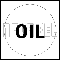 162554W10 Oil Label
