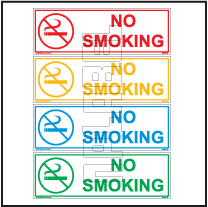 162574 No Smoking Sticker