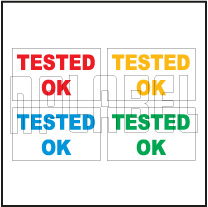 162575 Tested OK Sticker