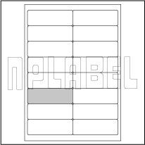 GU2016 Address Stickers -Multipurpose A4 Sheets