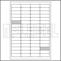 GU4064 Multipurpose Sticker A4 Sheets