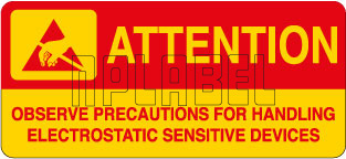 420032 Precautions for Electrostatic Device Labels