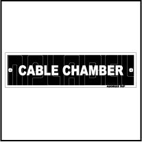 420523 Cable Chamber Control Panel Labels