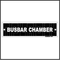 420524V Busbar Chamber Panel Sticker