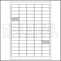 GU5080 Multi-Purpose Sticker Labels A4 Sheets