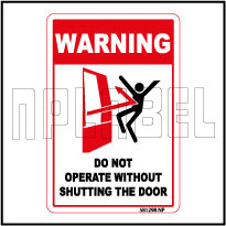 581298 Do Not Operate Caution Sticker Label & Sign