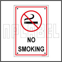582729 No Smoking Sign Board & Labels