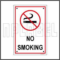 582729 No Smoking Sign Board & Labels