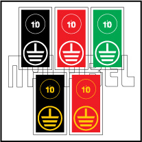 591788 Earthing Labels