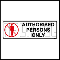 592507 Authorised Persons Only