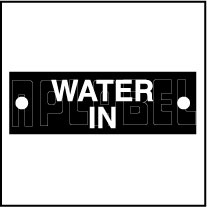 592960 Water In Sticker Labels