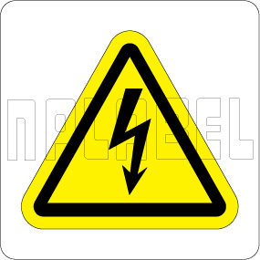 770610 Electrical Mains Sign Labels & Stickers