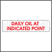 840301 Daily Oil At Indicated Point