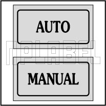 940161 Auto Manual Control Panel Sticker