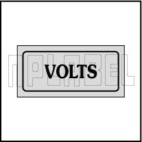 940172 Volts Sticker