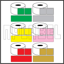 Color Barcode Labels - Across 1 (Width 50mm+)
