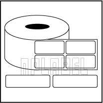 Barcode Labels - Across 2 Labels