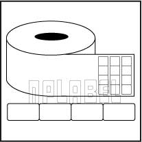 Barcode Labels - Across 4 Labels