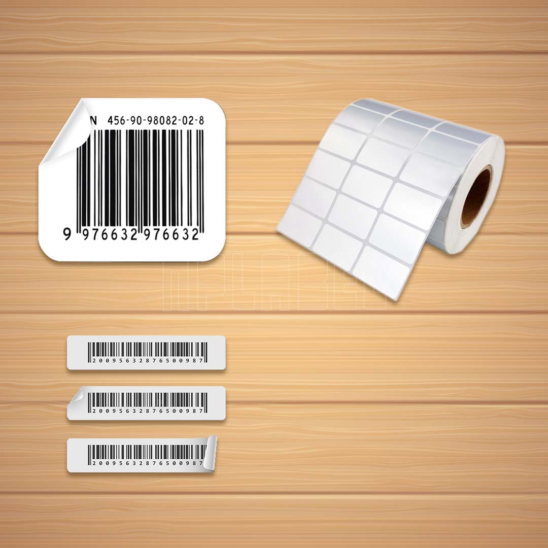 Bar Code Sticker Labels & Ribbons