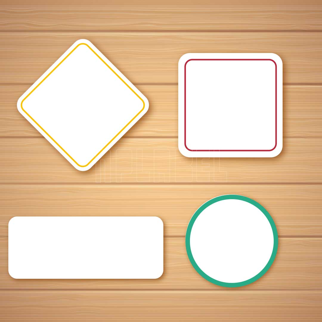 Blank Labels & Stickers for General Use