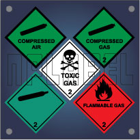 Class 2 - Gas Labels