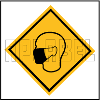CD1936  COVID19 Wear Mask Signages