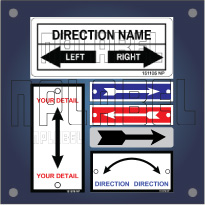 Create your own Arrow Labels & Stickers