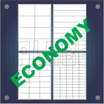 Multipurpose Self Adhesive Labels - A4 Sheets Economy Quality (Straight Corners)