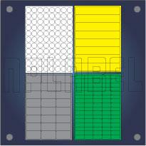Multipurpose Self Adhesive Labels for General Use