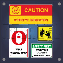 General Industrial Safety Signage & Name Plates