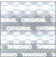 HG0014 Original Hologram Sticker