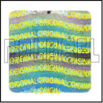HG0017 Original Hologram Sticker